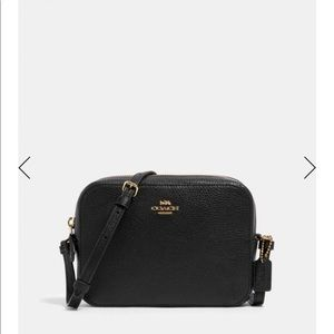 Coach mini camera bag black